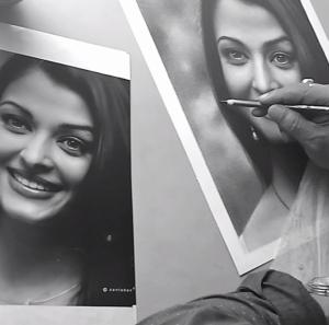final detailing of your pencil portrait