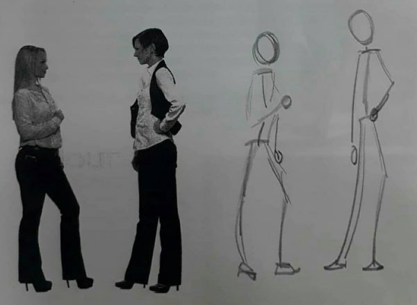 Last drawing tips is figure proportions and gesture drawing