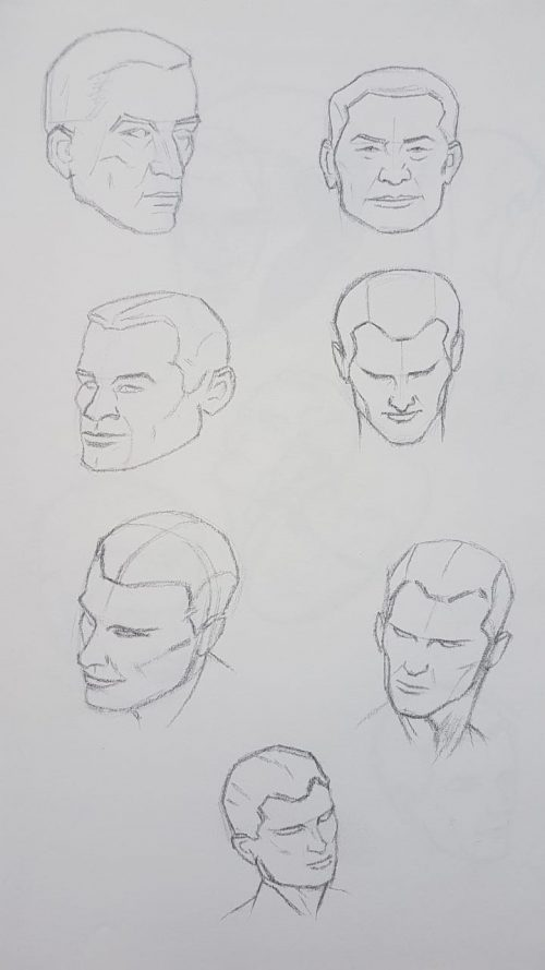 One of the simplest drawing tips is start by drawing simple shapes