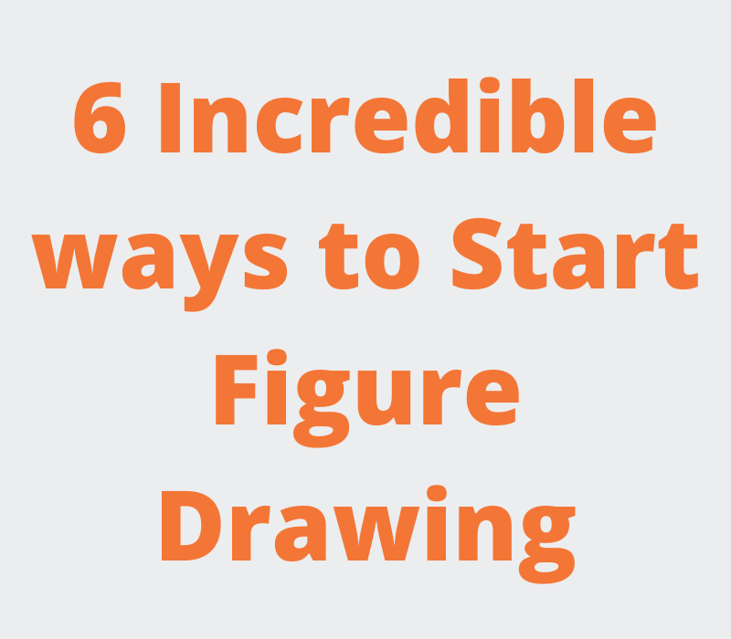 Differnt ways to start figure drawing